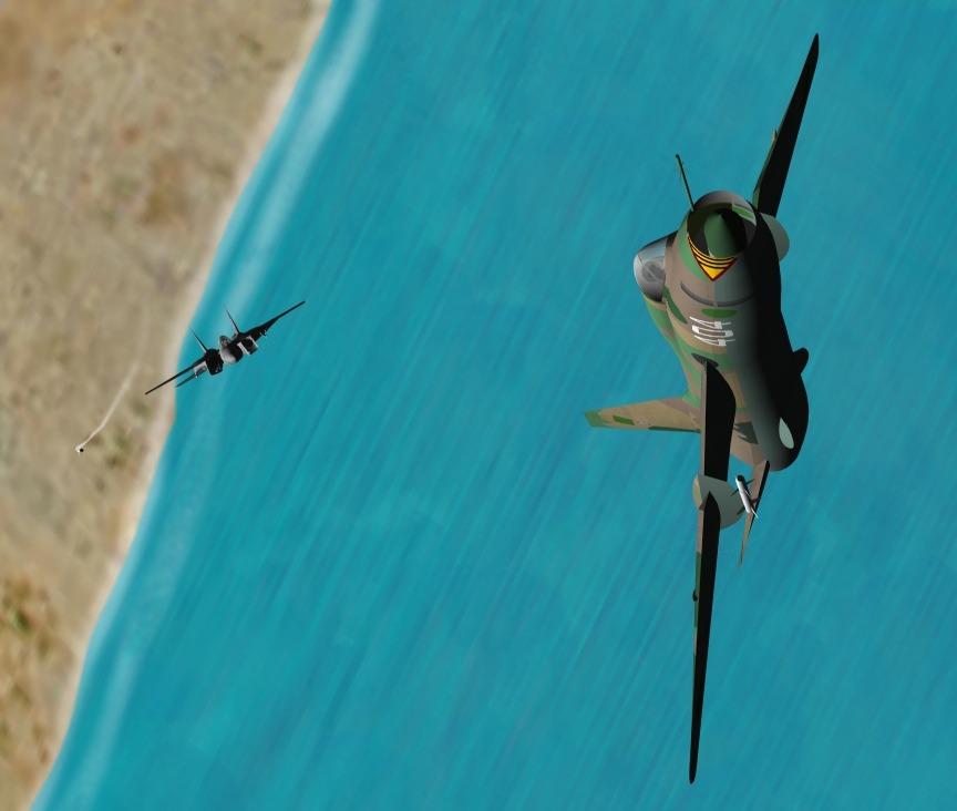"""真实版壮志凌云 F-14""""雄猫""""出击 锡德拉湾上空的两次空战"""