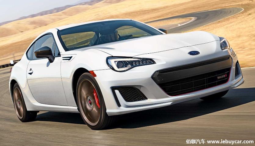 斯巴鲁BRZ tS将作为2020款车型重返美国市场 售价32395美元起