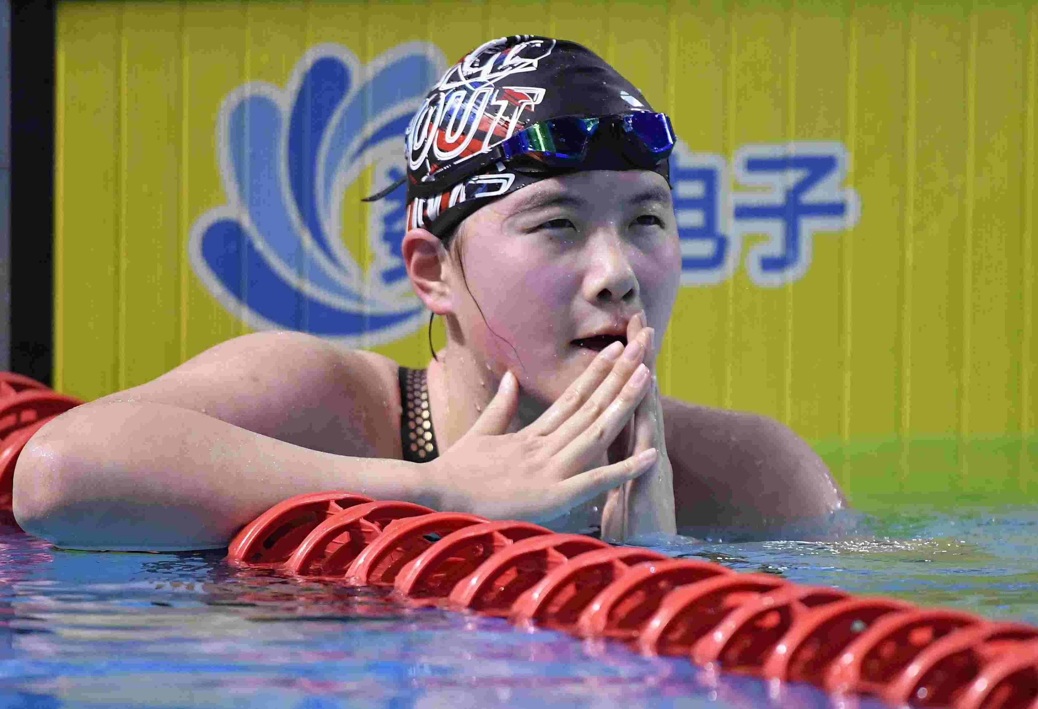 二青会游泳比赛收官,广东泳军有遗憾也有收获