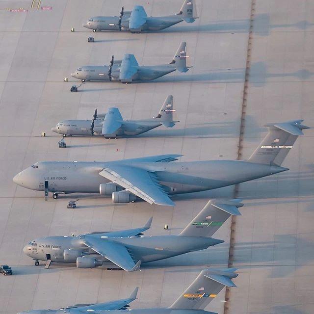 同樣是運輸機,C5、C17、C130體型差別原來這么大,安225:承讓