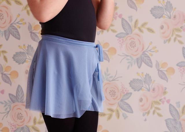 縫紉小白終于可以動手做的一款簡單的芭蕾舞裙,無需畫圖三步完成