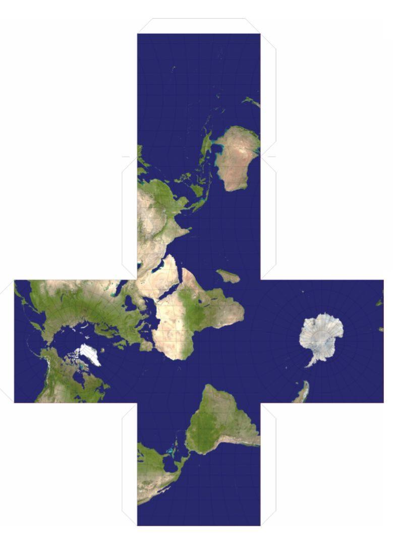 地球仪还有方块和三角的?只需3步就能做一个出来