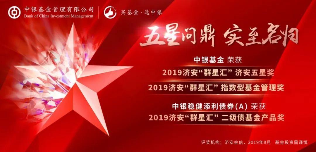 中銀基金榮獲濟安金信三項大獎