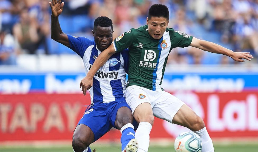 西甲-武磊替补登场造杀机 西班牙人0-0阿拉维斯两轮不胜