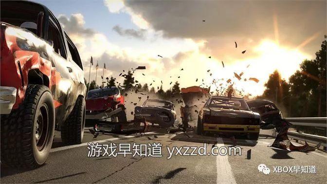 Xbox One火爆多人竞速游戏《撞车嘉年华》正式发售 支持官方中文