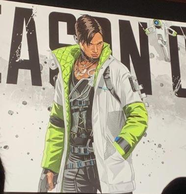 Apex英雄实体版曝光,新角色成封面人物,游戏将加入充能步枪