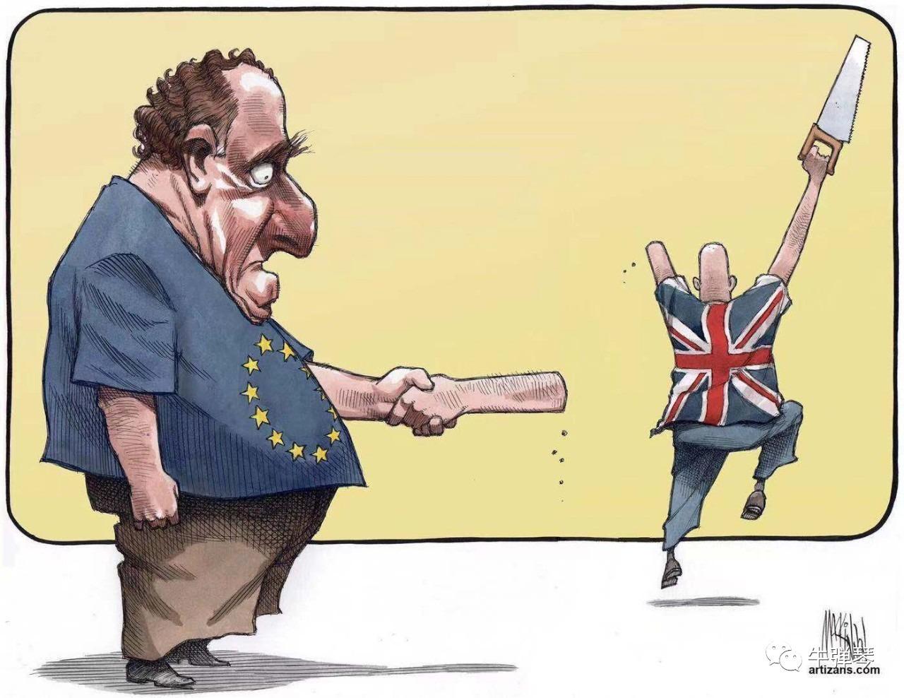 牛弹琴:这个周末 英国彻底乱套了