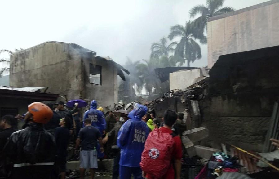 快讯!菲律宾一小型飞机坠落 机上9人全部死亡