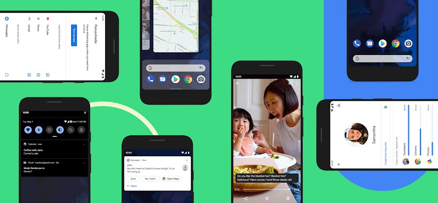 Android 10正式推送,Google自家Pixel手机先享受