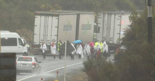 新西兰一辆载20多人巴士侧翻,已造成包括中国游客在内6人死亡