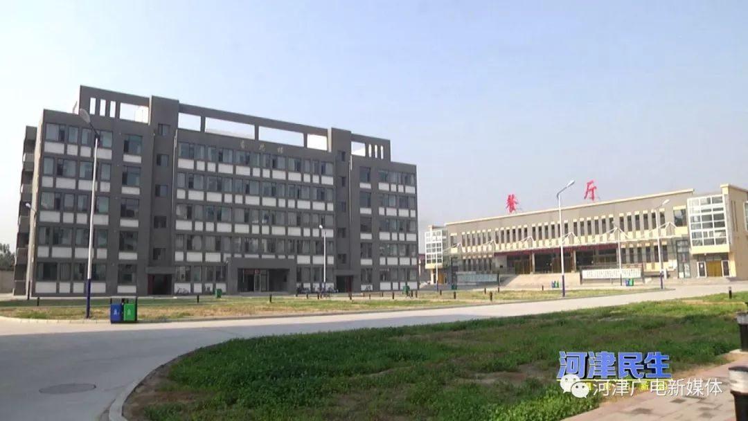 河津中学新建教学楼投入使用
