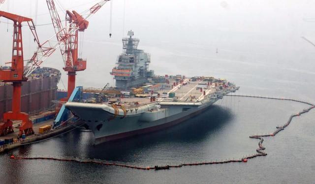 山东舰完成第七次海试,大洋彼岸也传来喜讯,十万吨航母出现大事