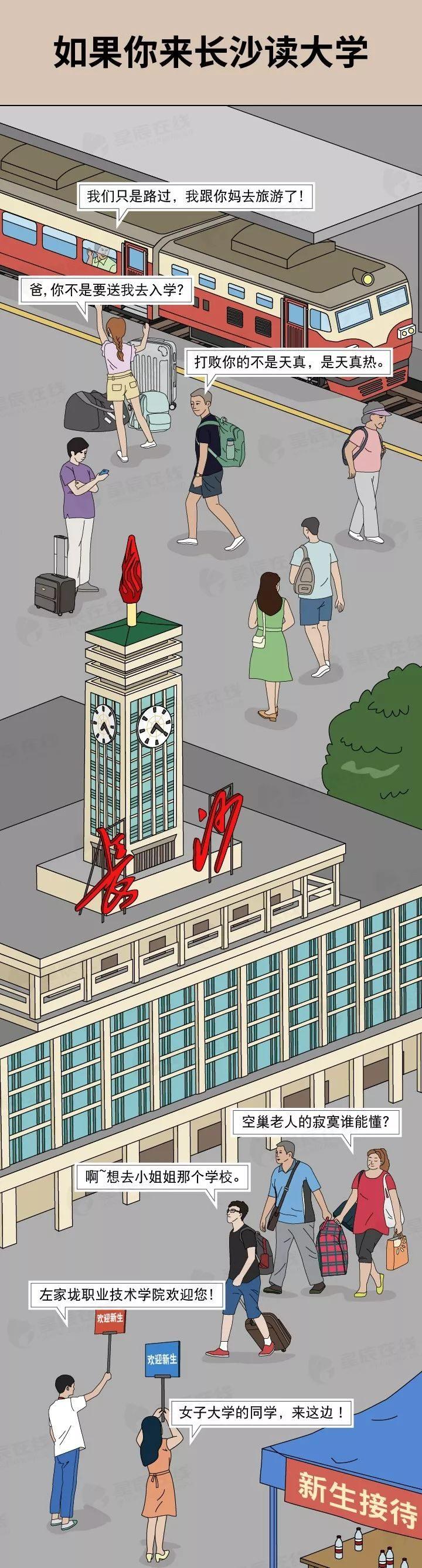 漫画丨如果你来长沙读大学