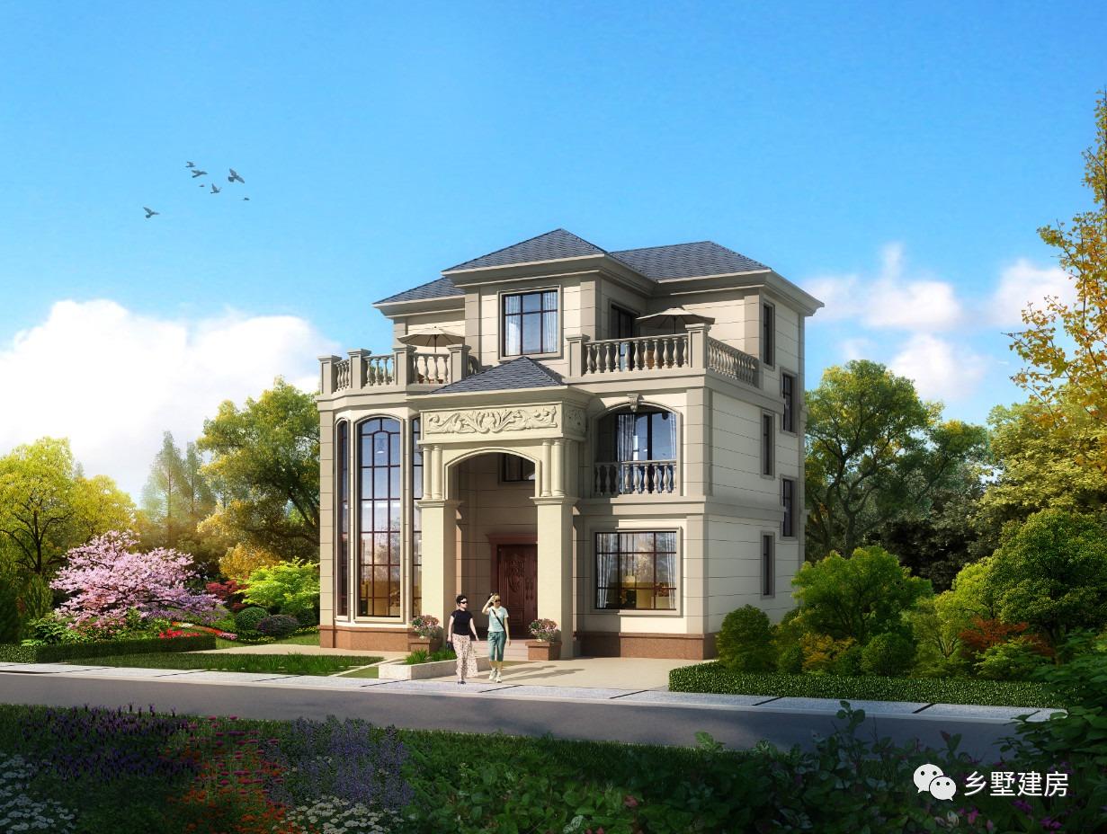 11.76X10.46米三层别墅,带给你家的感觉,享受如画生活!