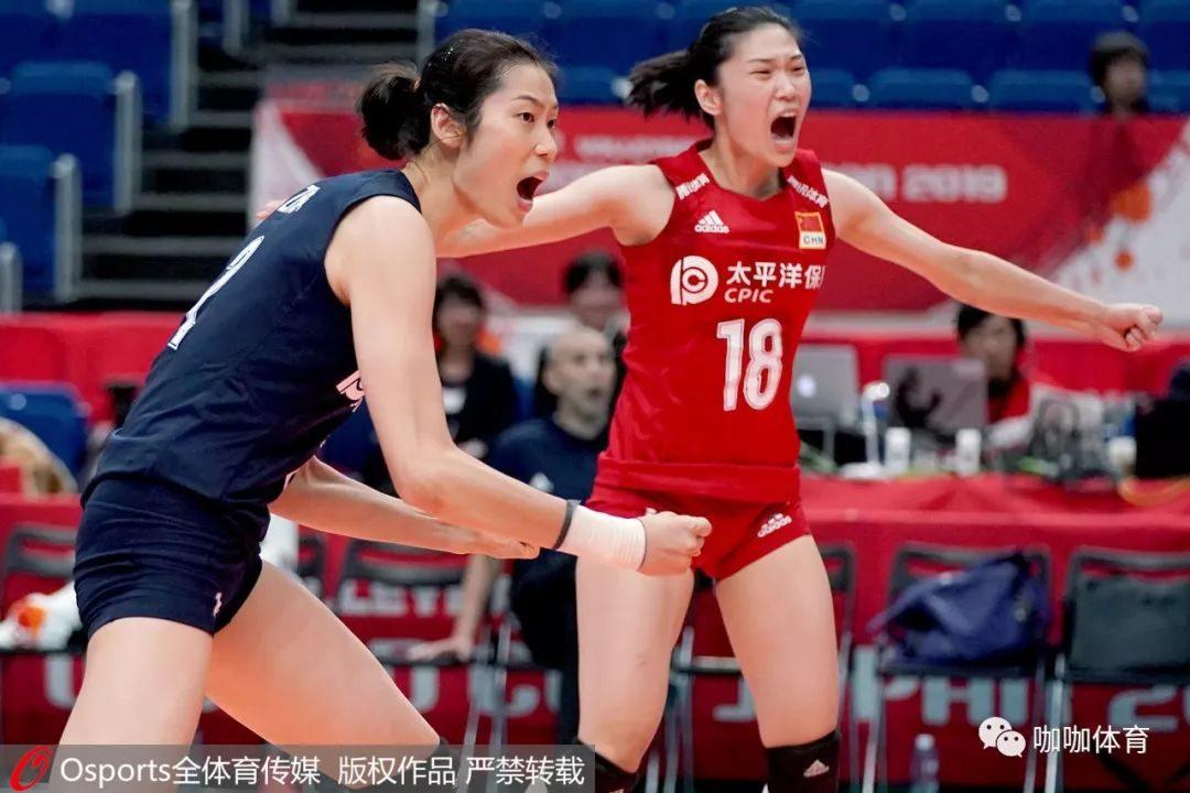 中国女排3局擒俄国 对方教练如此发惊叹!