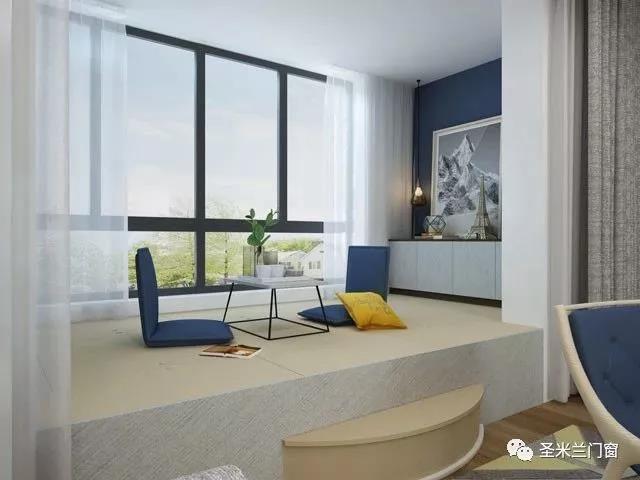 铝合金门窗十大品牌告诉你客厅和阳台之间隔断的做法