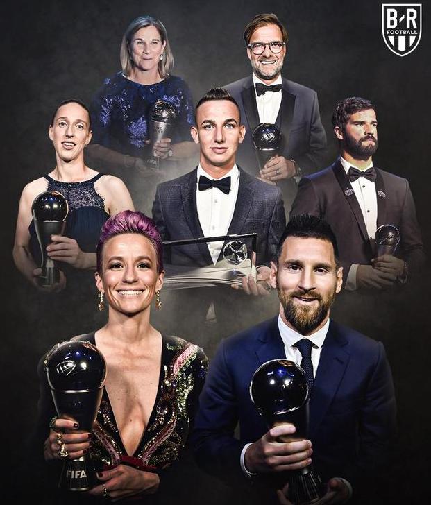 是争议还是实至名归?梅西当选年度最佳,FIFA年度最佳各奖项得主