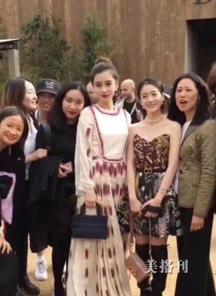 无范冰冰的中国看秀星团,Angelababy一枝独秀,张雪迎等人太普通