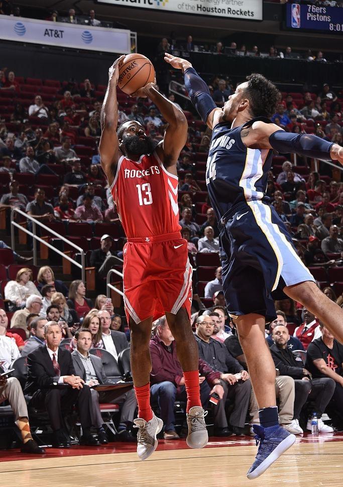 火箭的三分球能力有多强 创造多项NBA历史季前赛纪录