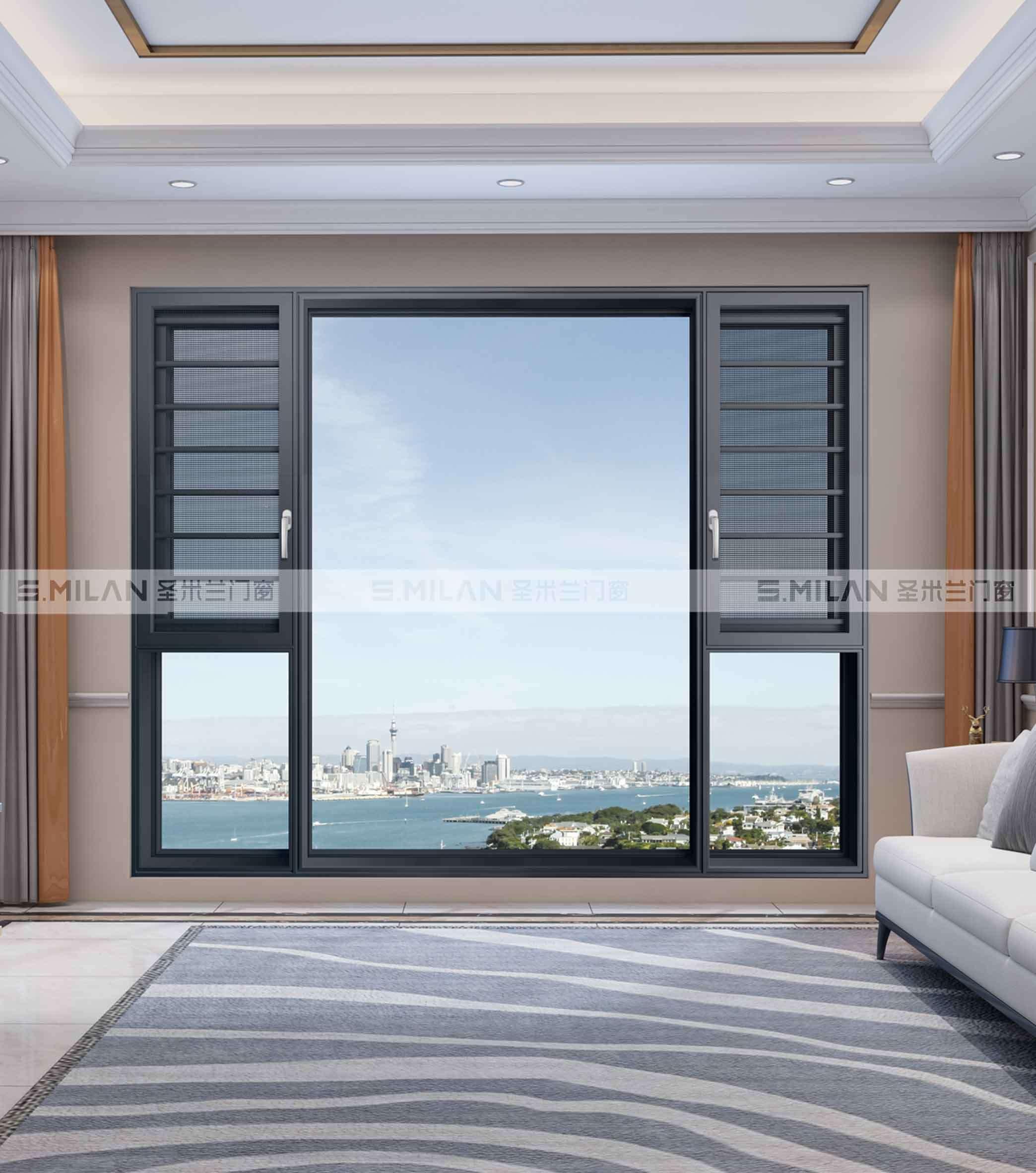 铝合金门窗十大品牌知识课堂,家居窗户的开启方式和特点介绍