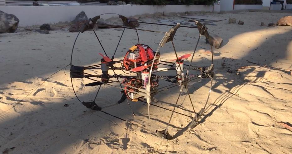 超酷炫 NASA设计变形机器人探索外星人