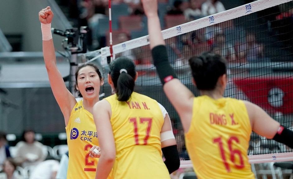 正播女排世界杯:中国1-0阿根廷 中国女排一波流拿下首局