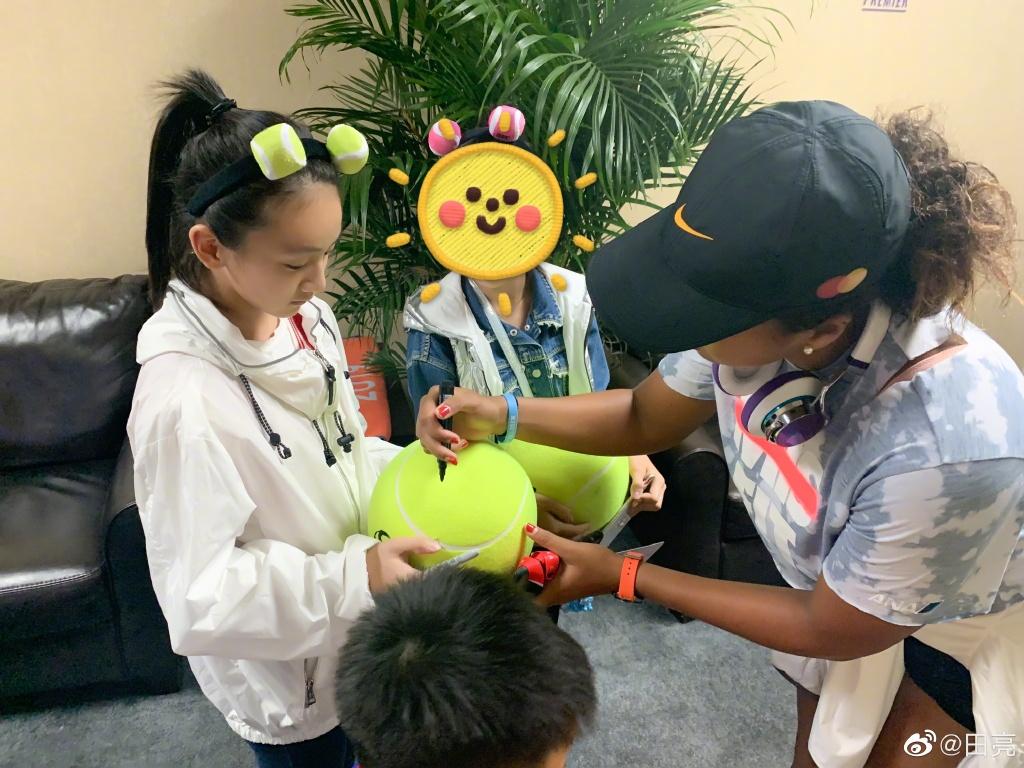 田亮帶11歲女兒看中網決賽,森碟化身網球少女,新發型卻被吐槽了
