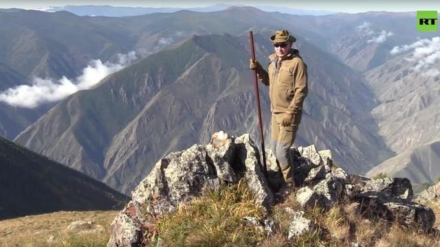 為慶祝生日 普京給自己放假去西伯利亞森林登山、遠足、開越野車