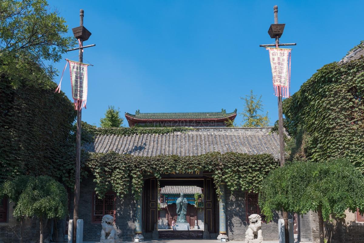 山東青州古城,仍保留著一處幾百年前的考場