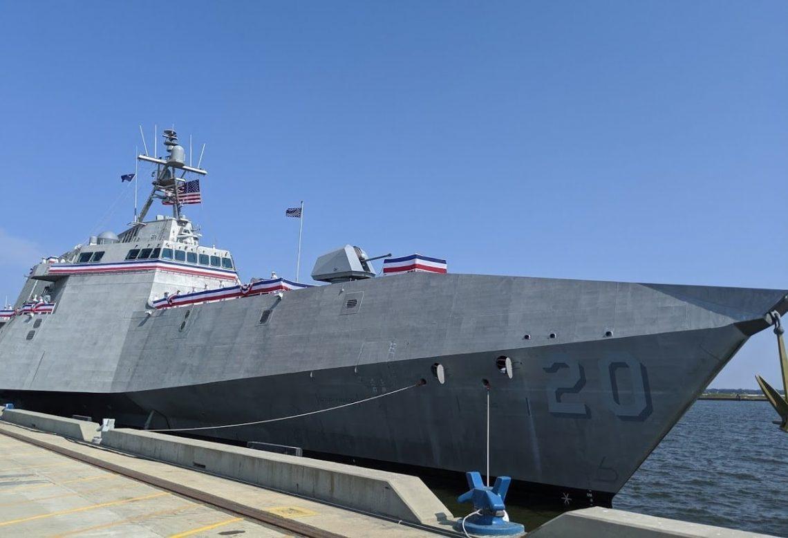 """美""""让敌人清醒""""濒海战斗舰最新舰服役 数量达20艘"""