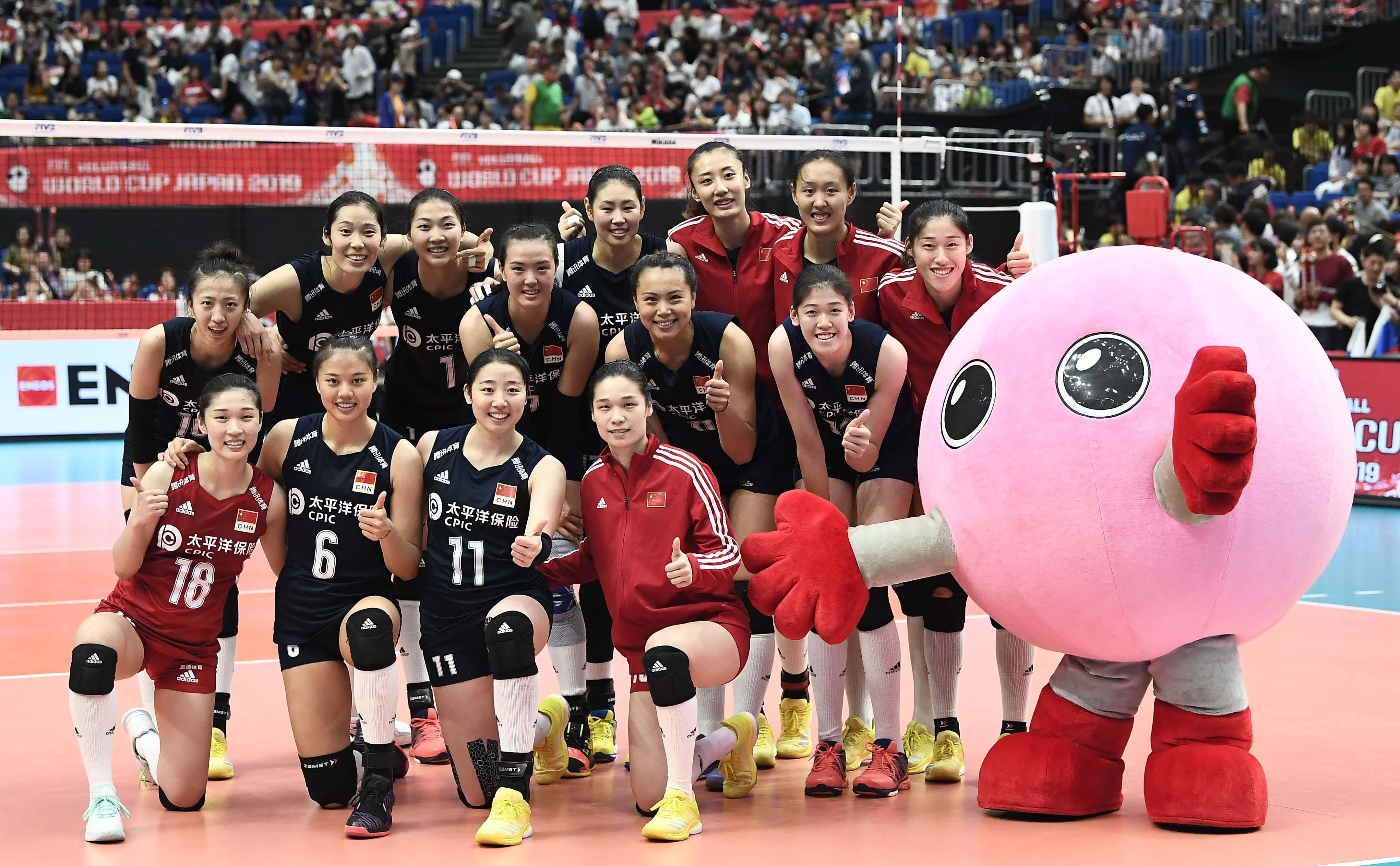 团队之美——贺中国女排十一连胜