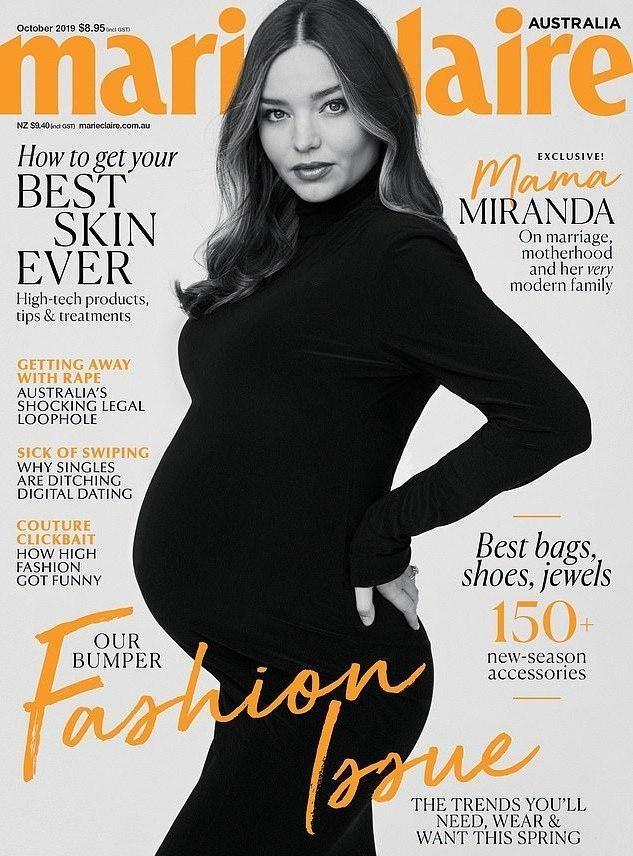 36歲米蘭達可兒三度當媽喜獲兒子!沒生個女兒繼承盛世美顏好遺憾