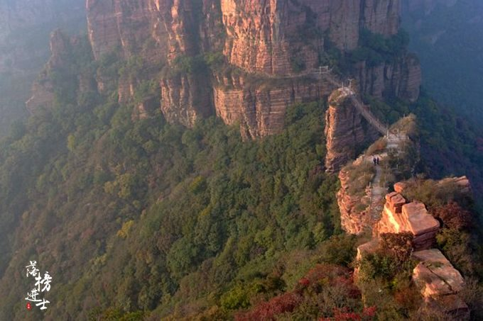 河北锦山,这里有太行山的绝美秋色,充满了原生态