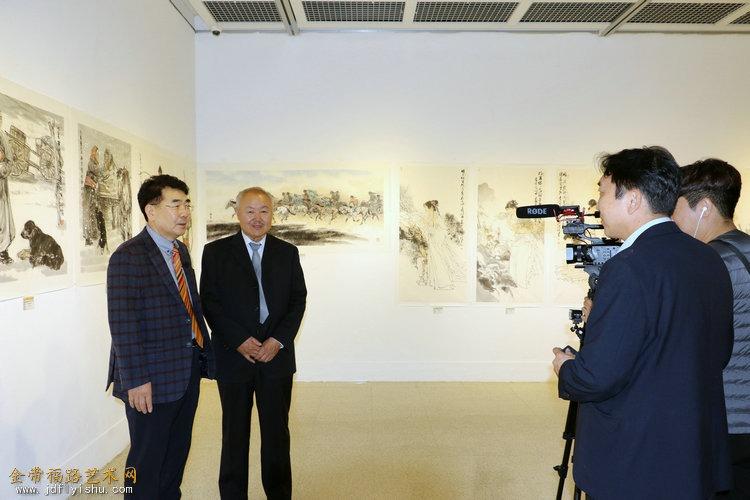 第八届中韩文化交流展在韩国仁川开幕