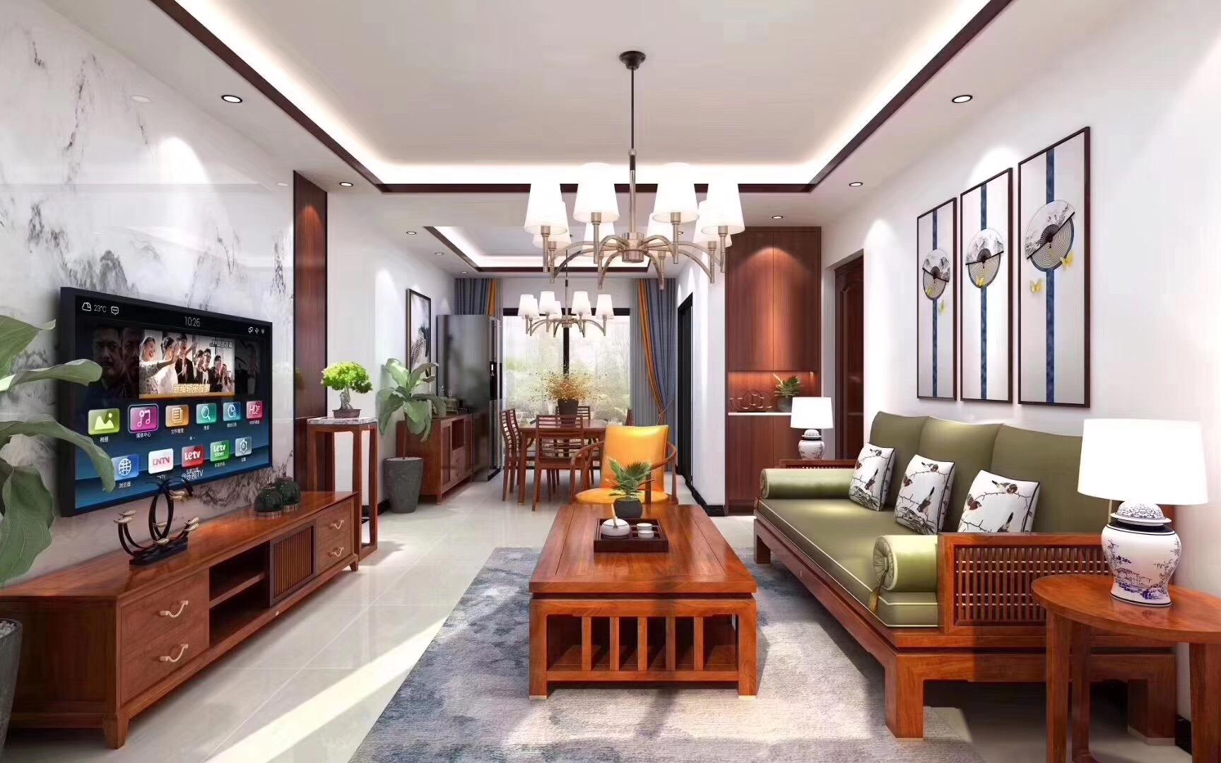 新中式|领略传统之美,打造舒适之居