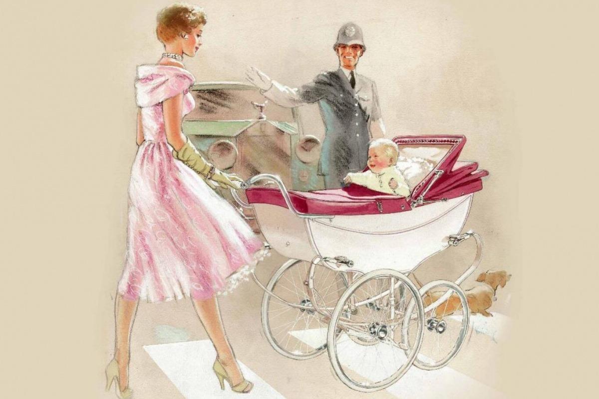 优雅与风姿,感受母亲婴时代的英伦之美