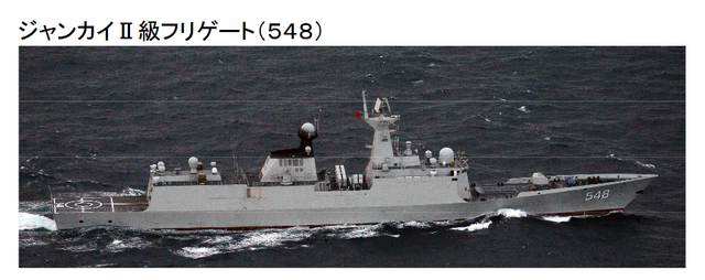 解放軍海軍艦艇編隊及軍機近日進入日本海進行訓練