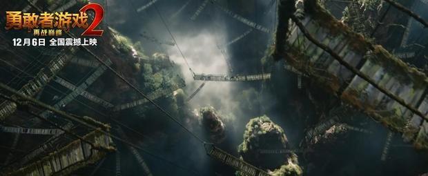 明天就能看到《勇敢者游戲2》了!