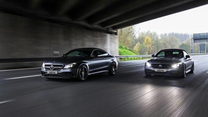 德國改裝商V?TH為奔馳AMG C63 Coupe和Convertible拉動700馬力