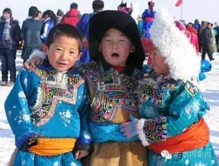 烏珠穆沁兒童服飾