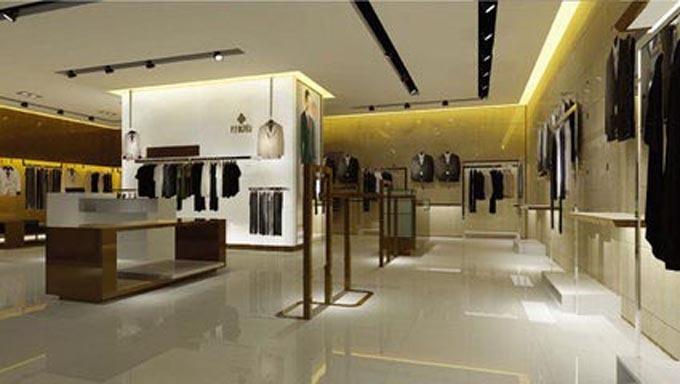 成都服装店装饰设计的形式美-服装店装修设计