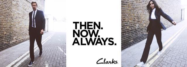 THEN.NOW.ALWAYS. Clarks 2020春夏新品演繹都市英倫新風尚