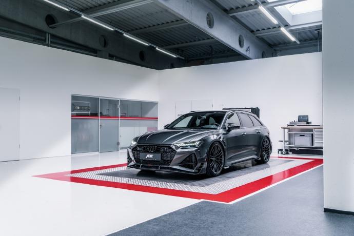XI全网-ABT爆改全新奥迪RS6 Avant 取名RS6-R