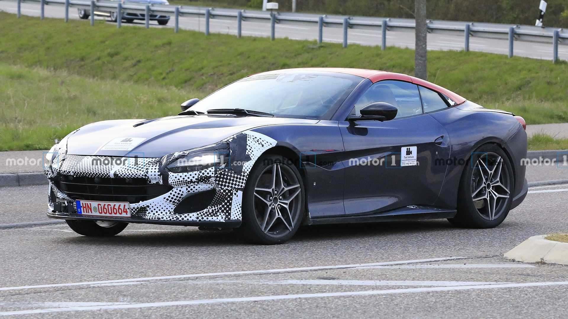 F1体育-最便宜的法拉利谍照 620马力3.5秒破百