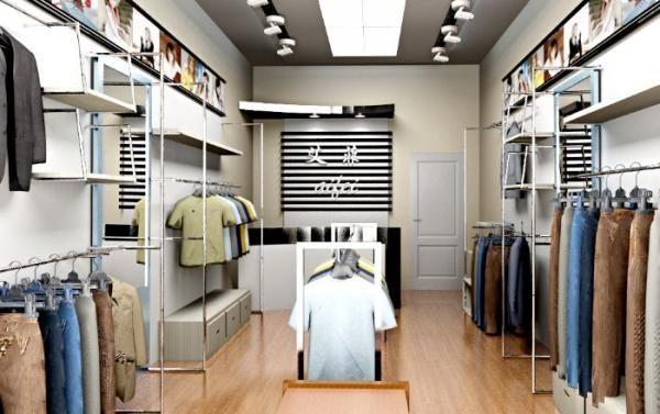 成都服装店装修设计-服装店装修材料的选择