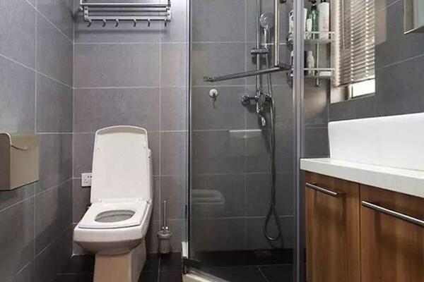 不足4衛生間怎麼干濕分離?學學這三種設計,方便實用更省心