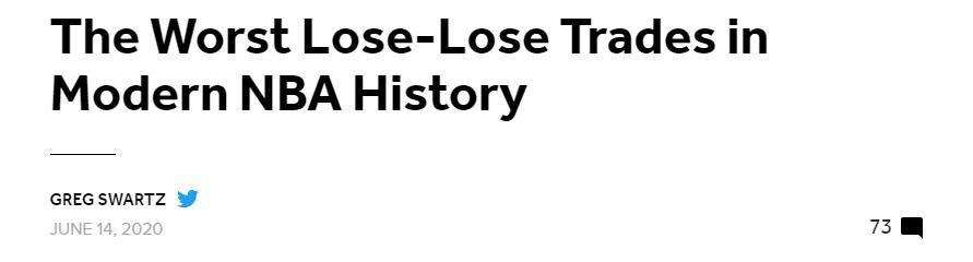 美媒評近20年最糟糕的四筆交易!騎士送走歐文,湖人引進38歲納什