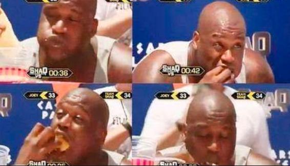 NBA巨人是怎樣吃飯的?詹姆斯一天花300美金吃飯,奧胖吃36個熱狗