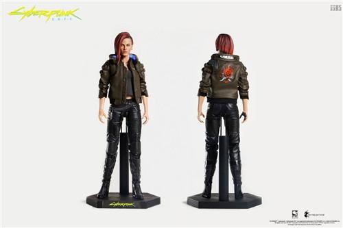 豆魚雷推出《賽博朋克2077》男女主角V1/6可動手辦附帶酷炫摩托