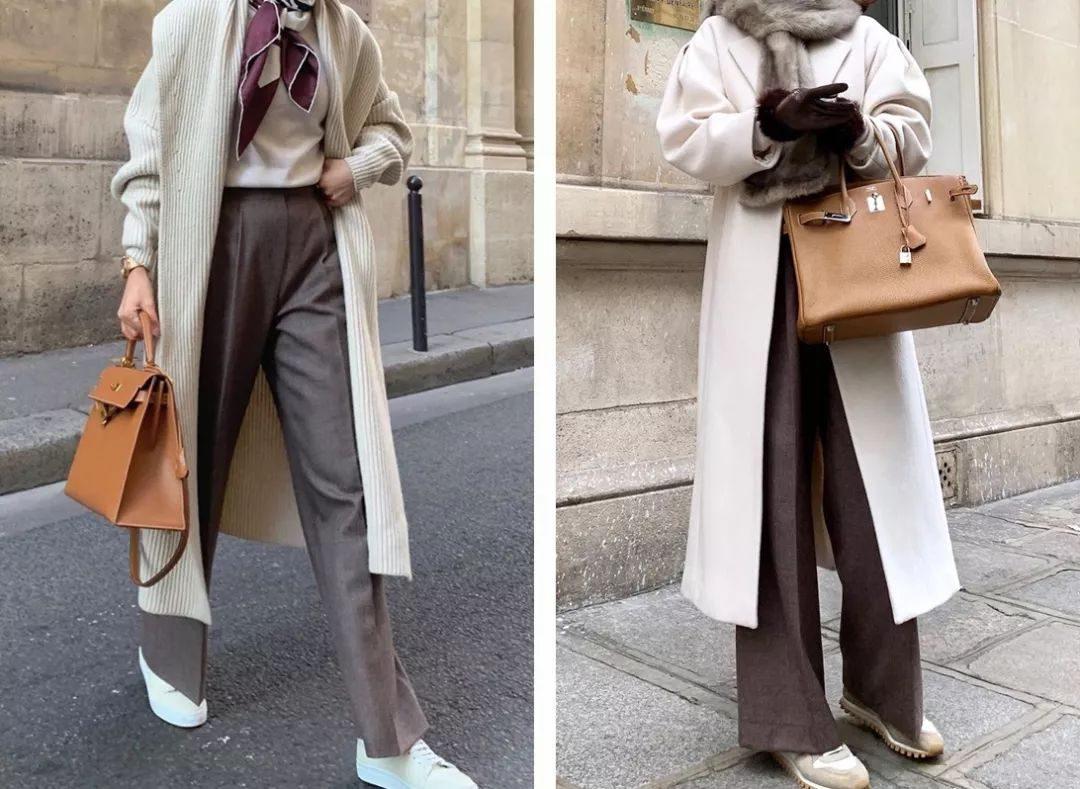 """求你別穿闊腿褲了!現在流行的""""奶奶褲""""才是真時髦炸了!"""